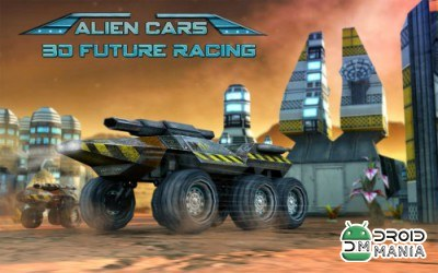Скриншот Alien Cars 3D Future Racing №1