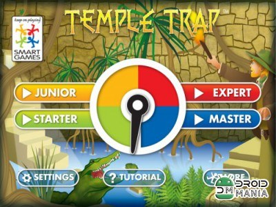 Скриншот Temple Trap by SmartGames №1