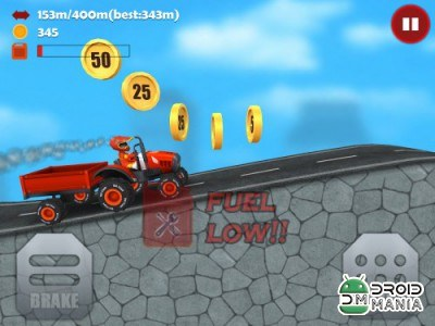 Скриншот Hill Racing 3D: Uphill Rush №3