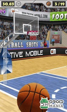Скриншот Basketball Shots 3D (2010) №1