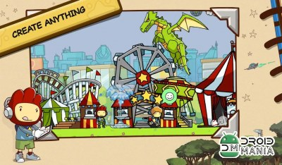 Скриншот Scribblenauts Unlimited №1