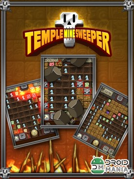 Скриншот Temple Minefield - игры Сапер / Temple Minesweeper - Minefield №1