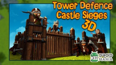 Скриншот Осада Замка 3D / Tower Defence Castle Sieges 3D №1