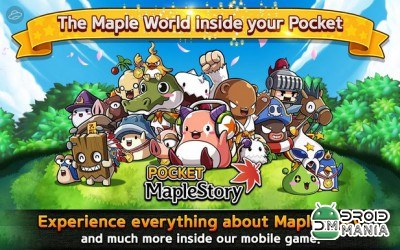 Скриншот Pocket MapleStory №1