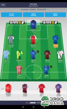 Скриншот Fantasy Premier League 2015/16 №1