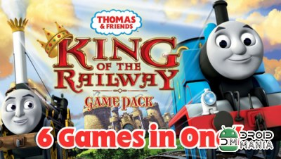 Скриншот Thomas & Friends: King Railway №1