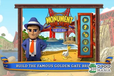 Скриншот Monument Builders - Golden Gate №1
