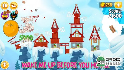 Скриншот Angry Birds Seasons №2