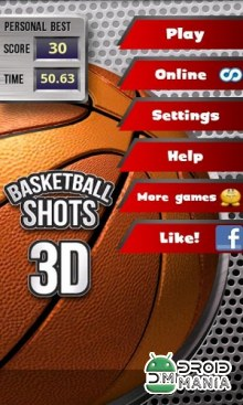 Скриншот Basketball Shots 3D (2010) №2