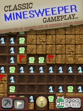 Скриншот Temple Minefield - игры Сапер / Temple Minesweeper - Minefield №2