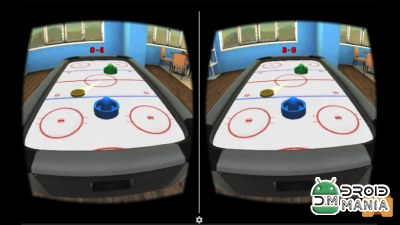 Скриншот Air Hockey VR №2