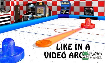 Скриншот Air Hockey - Ice to Glow Age №2