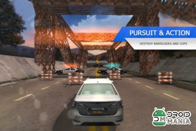 Скриншот Racing Rush 3D: Death Road №2