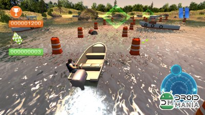 Скриншот Speed Boat Parking 3D 2015 №3