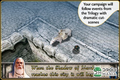 Скриншот The Lord of the Rings: Middle-earth Defense №3