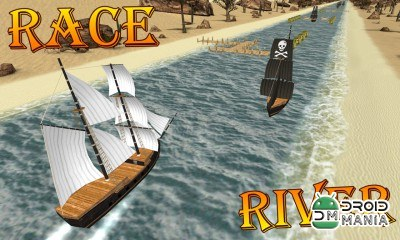 Скриншот Turbo River Racing Ship 3D №3