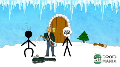 Скриншот Stickman and Troll №4