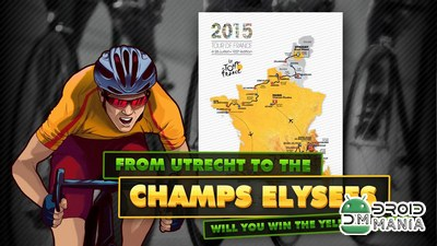 Скриншот Tour de France 2015 - The Game №4
