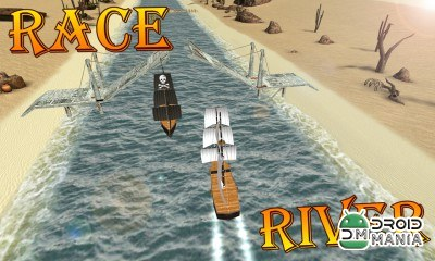Скриншот Turbo River Racing Ship 3D №4