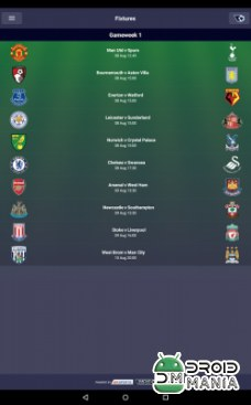 Скриншот Fantasy Premier League 2015/16 №4