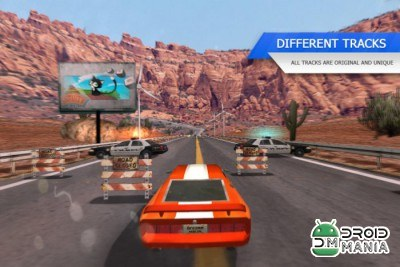 Скриншот Racing Rush 3D: Death Road №3