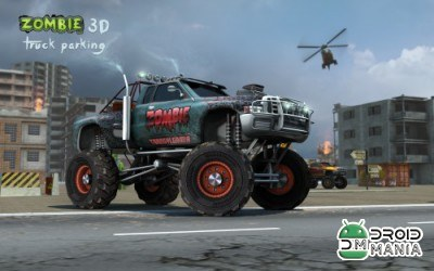 Скриншот Zombie 3D Truck Parking №1