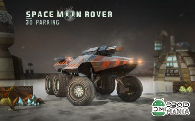 Скриншот Space Moon Rover 3D Parking №1
