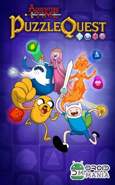 Скриншот Adventure Time Puzzle Quest №1