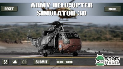 Скриншот Army Helicopter Simulator 3D №1