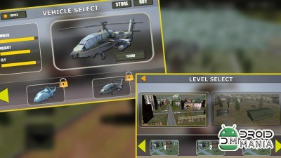 Скриншот Army Helicopter Simulator 3D №2