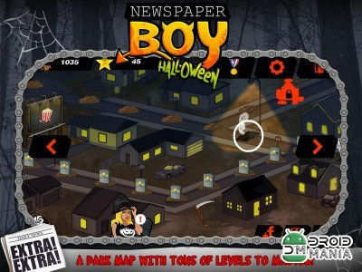 Скриншот Newspaper Boy Halloween night №3
