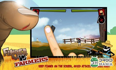 Скриншот Finger VS Farmers №1