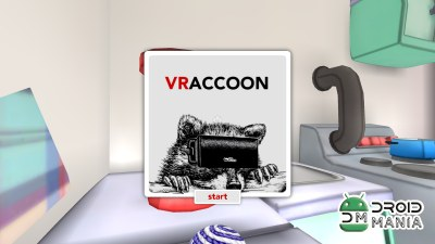 Скриншот VRaccoon for Cardboard №1