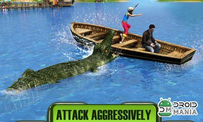 Скриншот Crocodile Attack 2016 №3