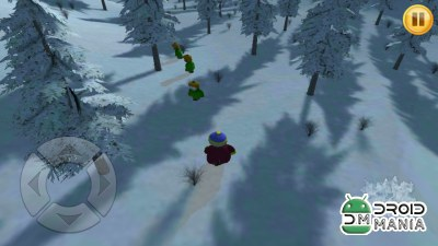 Скриншот Winter Snow Fighting 3D №3