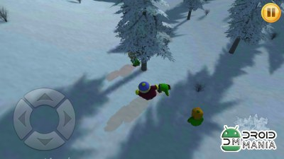 Скриншот Winter Snow Fighting 3D №4