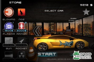 Скриншот Racing Rush 3D: Death Road №1