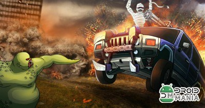 Скриншот Monster Car Hill Racer №1