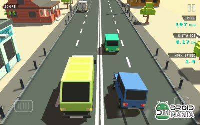 Скриншот Blocky Traffic Racer №3
