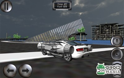 Скриншот Jet Car Pro - Extreme Jumping №2