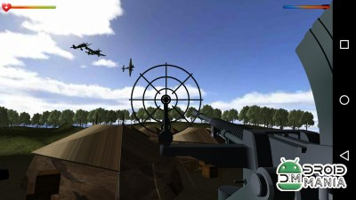 Скриншот Air Defense Force World War 3D №2