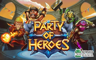 Скриншот Party of Heroes №1