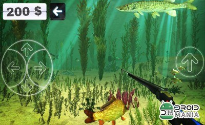 Скриншот Spearfishing 3D №1