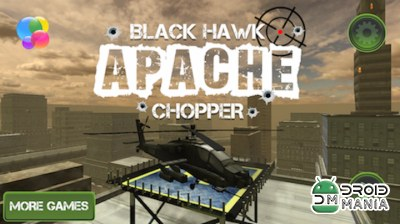 Скриншот Black Hawk Apache Chopper PRO №1