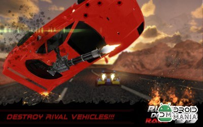 Скриншот Death Racing Fever: Car 3D №1
