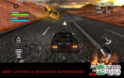 Скриншот Death Racing Fever: Car 3D №4