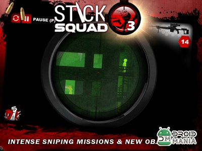 Скриншот Stick Squad 3 - Modern Shooter №1