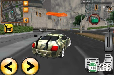 Скриншот Army Extreme Car Driving 3D №1