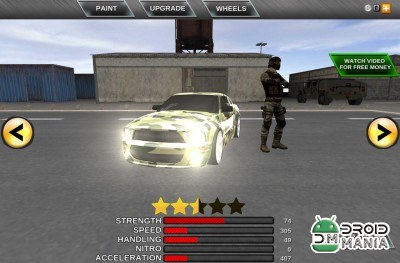 Скриншот Army Extreme Car Driving 3D №3