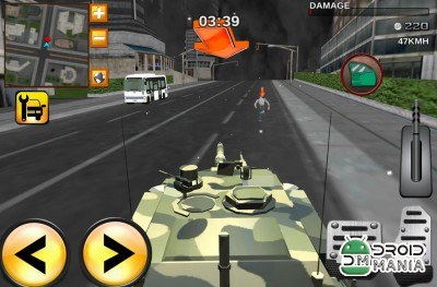 Скриншот Army Extreme Car Driving 3D №4